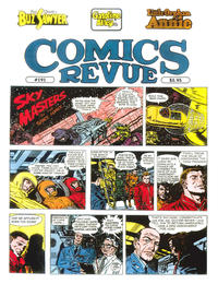 Cover for Comics Revue (Manuscript Press, 1985 series) #191
