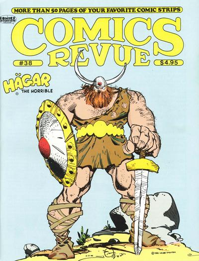 Cover for Comics Revue (1985 series) #38