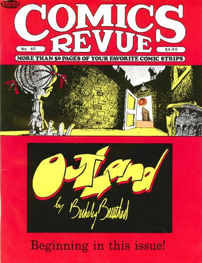 Cover for Comics Revue (1985 series) #40