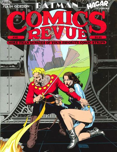 Cover for Comics Revue (1985 series) #46