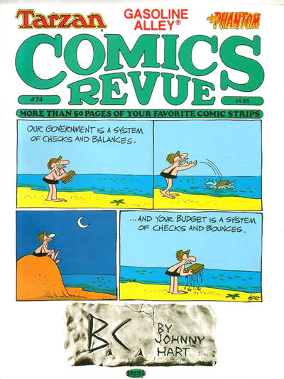 Cover for Comics Revue (Manuscript Press, 1985 series) #74