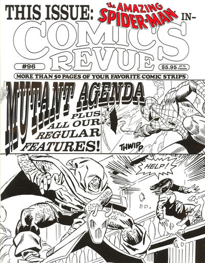 Cover for Comics Revue (Manuscript Press, 1985 series) #96