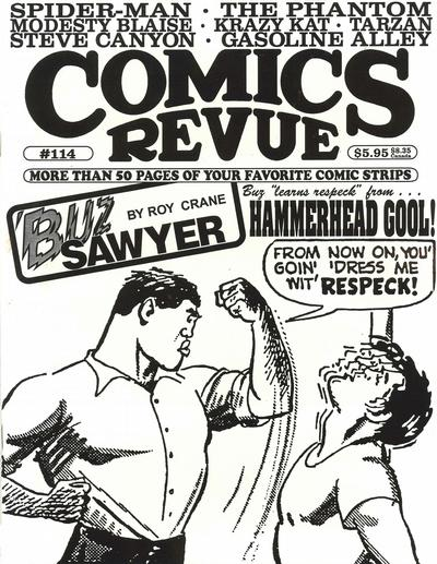 Cover for Comics Revue (Manuscript Press, 1985 series) #114