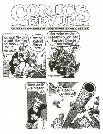 Cover for Comics Revue (1985 series) #143