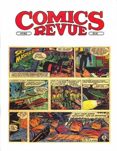 Cover for Comics Revue (Manuscript Press, 1985 series) #145