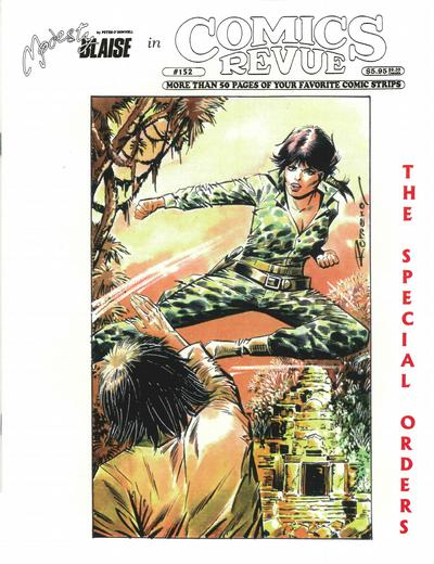 Cover for Comics Revue (Manuscript Press, 1985 series) #152