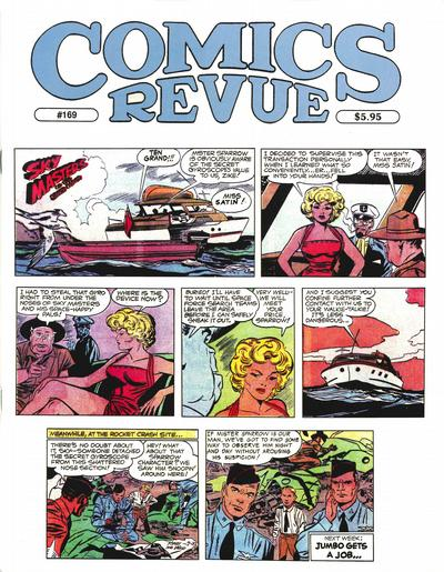 Cover for Comics Revue (1985 series) #169