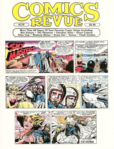 Cover for Comics Revue (Manuscript Press, 1985 series) #179