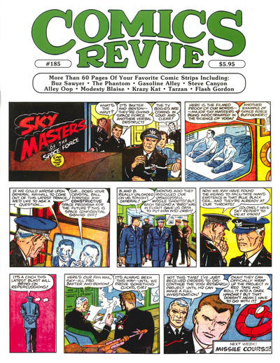 Cover for Comics Revue (1985 series) #185
