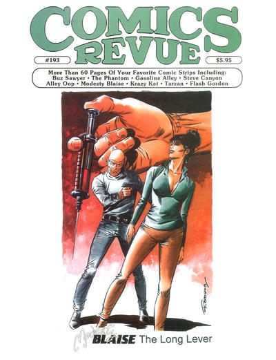 Cover for Comics Revue (Manuscript Press, 1985 series) #193