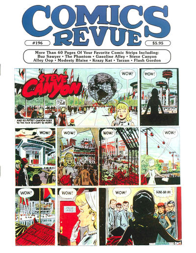 Cover for Comics Revue (Manuscript Press, 1985 series) #196