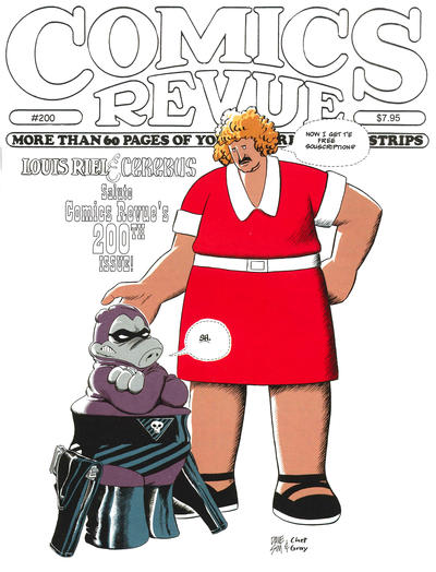 Cover for Comics Revue (1985 series) #200