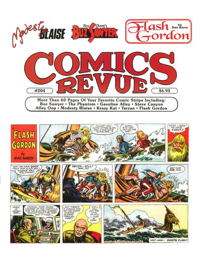 Cover for Comics Revue (Manuscript Press, 1985 series) #204
