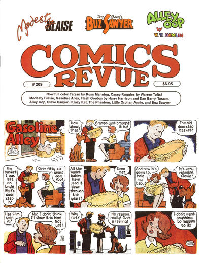 Cover for Comics Revue (1985 series) #209