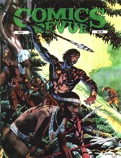 Cover for Comics Revue (Manuscript Press, 1985 series) #211