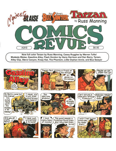 Cover for Comics Revue (Manuscript Press, 1985 series) #213
