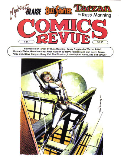 Cover for Comics Revue (1985 series) #217