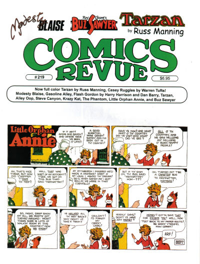 Cover for Comics Revue (1985 series) #219