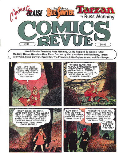 Cover for Comics Revue (Manuscript Press, 1985 series) #242