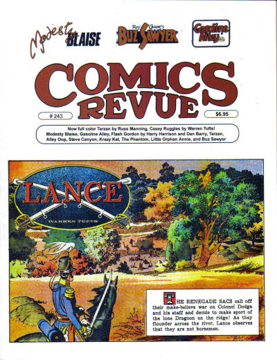 Cover for Comics Revue (Manuscript Press, 1985 series) #243