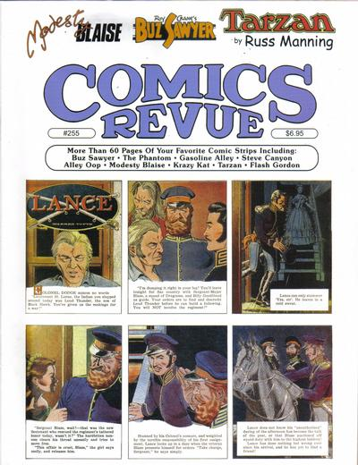 Cover for Comics Revue (Manuscript Press, 1985 series) #255