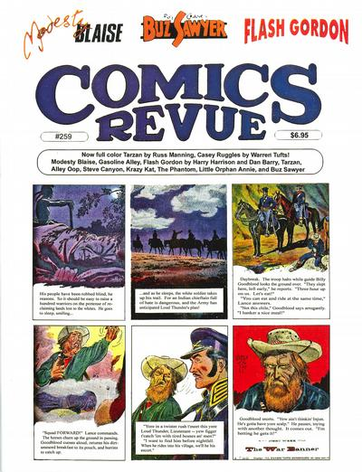 Cover for Comics Revue (1985 series) #259