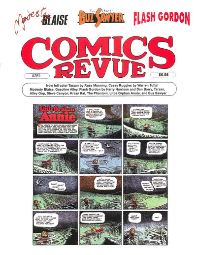 Cover for Comics Revue (1985 series) #261