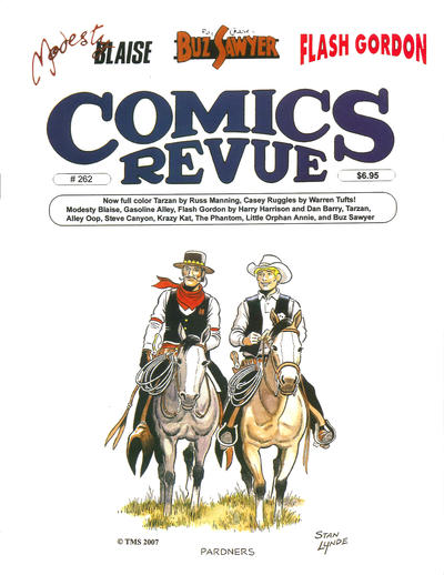 Cover for Comics Revue (Manuscript Press, 1985 series) #262