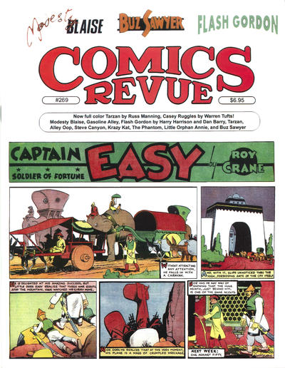 Cover for Comics Revue (1985 series) #269