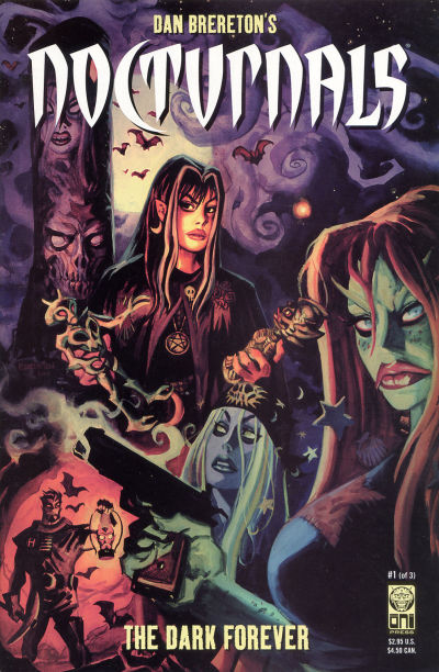 Cover for Nocturnals: The Dark Forever (Oni Press, 2001 series) #1