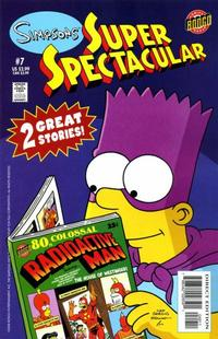 Cover Thumbnail for Bongo Comics Presents Simpsons Super Spectacular (Bongo, 2005 series) #7