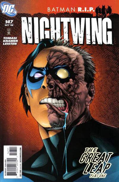 Cover for Nightwing (DC, 1996 series) #147