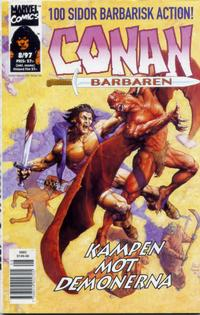 Cover Thumbnail for Conan (Egmont, 1997 series) #8/1997