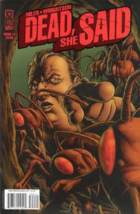 Cover Thumbnail for Dead, She Said (IDW Publishing, 2008 series) #2