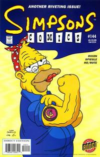 Cover Thumbnail for Simpsons Comics (Bongo, 1993 series) #144