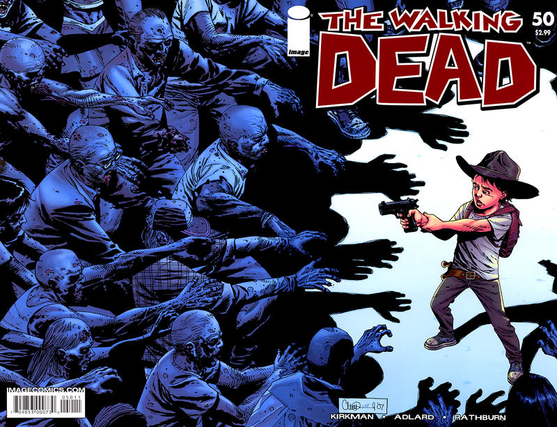 Cover for The Walking Dead (2003 series) #50
