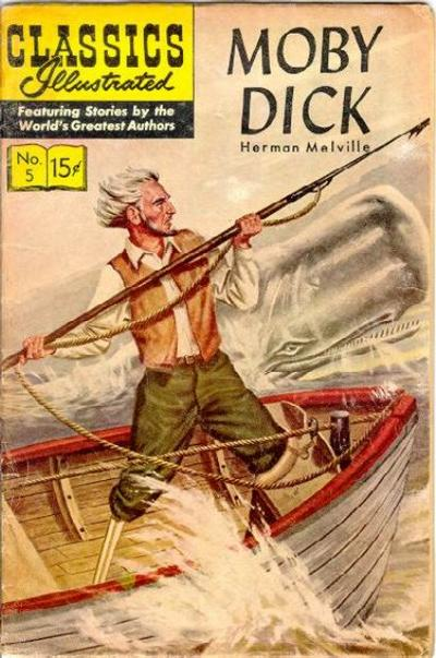 Cover for Classics Illustrated (1947 series) #5 [HRN 131]