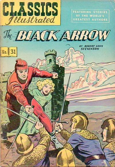 Cover for Classics Illustrated (1947 series) #31 [HRN 51]