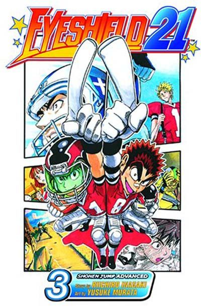 Cover for Eyeshield 21 (Viz, 2005 series) #3