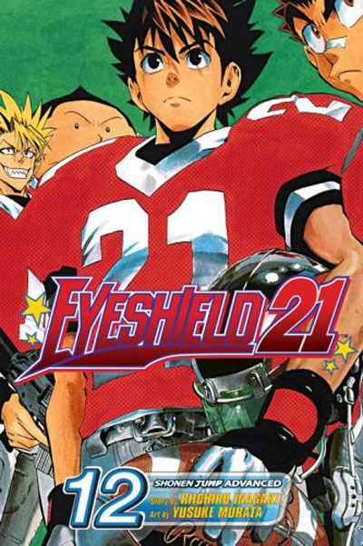 Cover for Eyeshield 21 (Viz, 2005 series) #12
