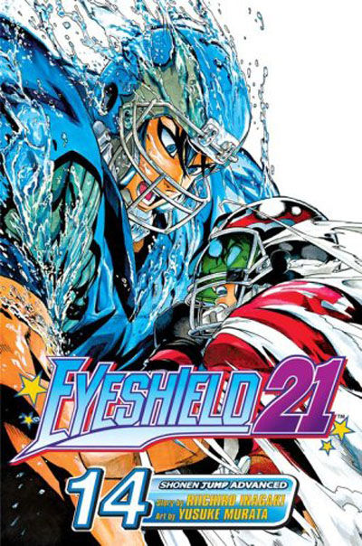 Cover for Eyeshield 21 (Viz, 2005 series) #14