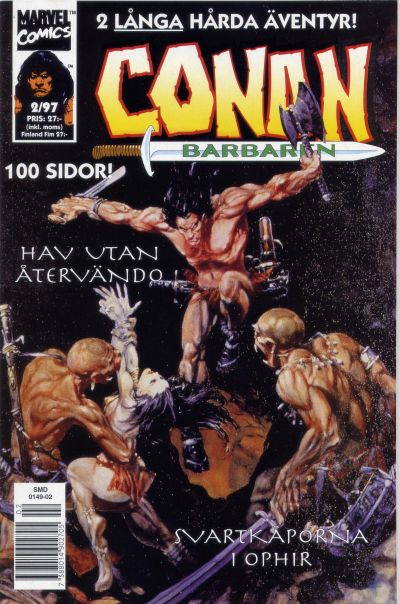 Cover for Conan (Semic, 1990 series) #2/1997