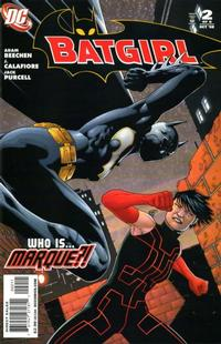 Cover Thumbnail for Batgirl (DC, 2008 series) #2