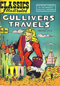 Cover Thumbnail for Classics Illustrated (Gilberton, 1947 series) #16 [HRN 60] - Gulliver's Travels