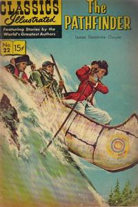 Cover Thumbnail for Classics Illustrated (Gilberton, 1947 series) #22 [HRN 167] - The Pathfinder