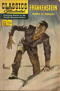 Cover Thumbnail for Classics Illustrated (Gilberton, 1947 series) #26 [HRN 146] - Frankenstein