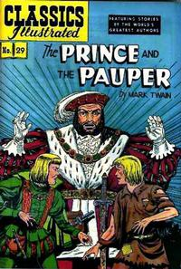 Cover Thumbnail for Classics Illustrated (Gilberton, 1947 series) #29  [HRN 60] - The Prince and the Pauper
