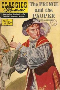 Cover Thumbnail for Classics Illustrated (Gilberton, 1947 series) #29 [HRN 128]