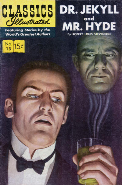 Cover for Classics Illustrated (1947 series) #13 [HRN 112] [Twin Circle]