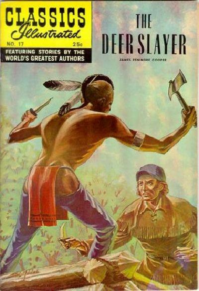 Cover for Classics Illustrated (1947 series) #17 [HRN 166]